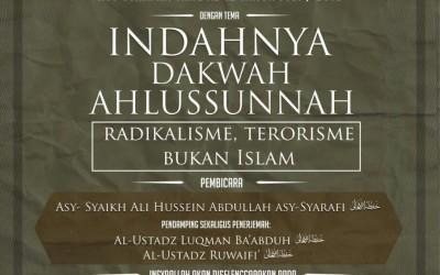 Safari Dakwah Asy-Syariah Ke-12 di Kota Ambon Maluku