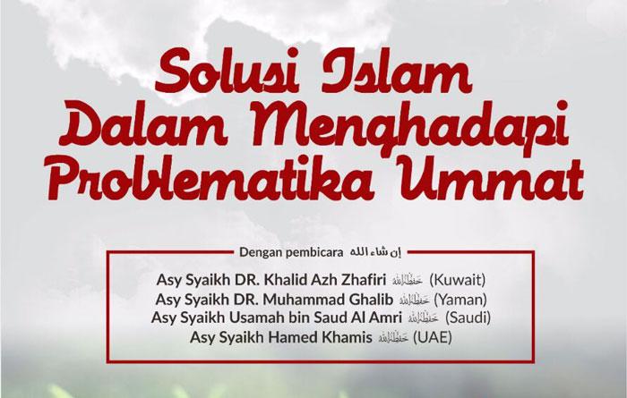 Rekaman Muhadharah Ilmiyah Masyaikh Ahlussunah wal Jama'ah di Jakarta